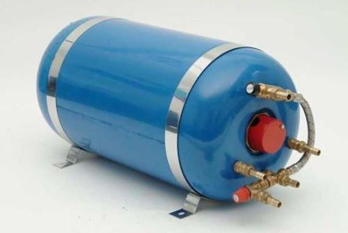 Calorifier 55 ltr Surejust Twin coil Horizontal