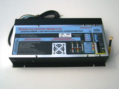 Sterling 30amp battery charger