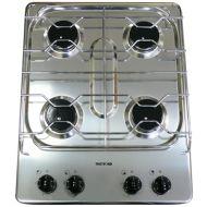 Spinflo 4 Burner hob - Stainless steel