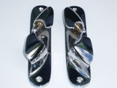 Chrome bow fairleads