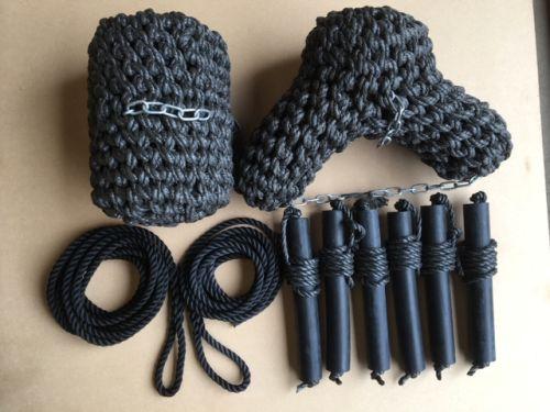 Fender & rope set (6 sides)