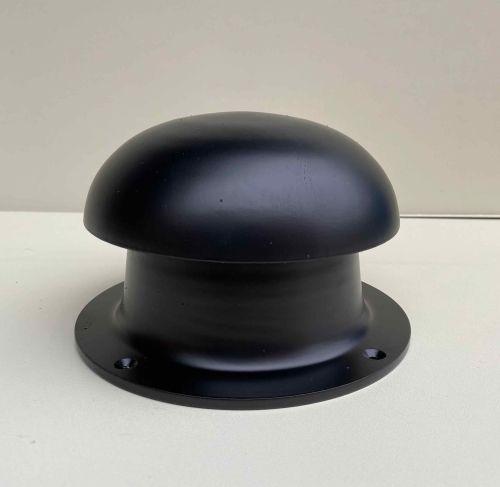 """Black 4"""" mushroom vent"""