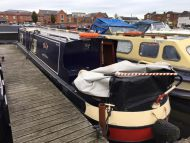 'Tilly' 40ft Cruiser stern narrowboat