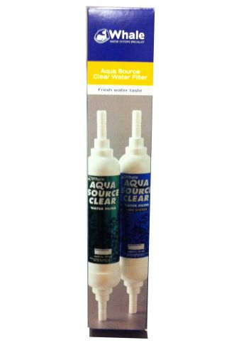 Whale aqua source in-line clear water filter 12mm