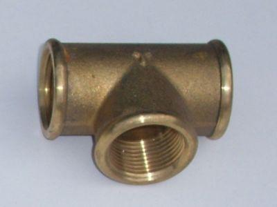 Brass 1/2 female tee