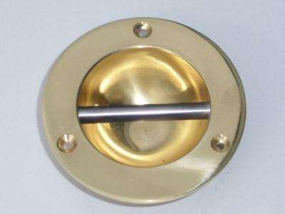 Brass fender eye
