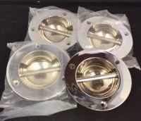 Set of 4 Chrome Fender Eyes