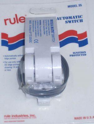 Rule float switch