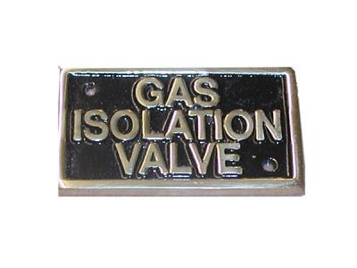 Gas label