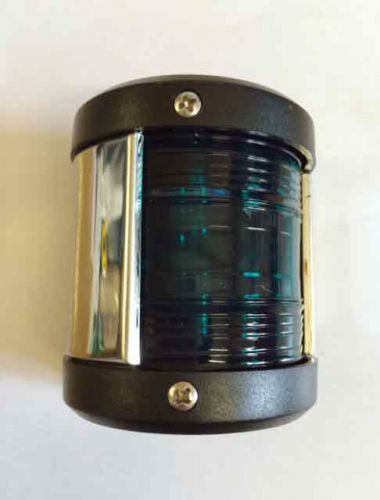 Navigation light Green - chrome edge