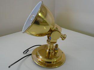 Brass gimble light