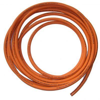 Orange Gas Hose 8mm
