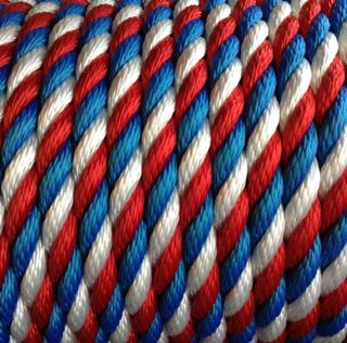 14mm Red, White & Blue Rope