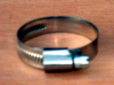 Stainless 16-27mm hose clip