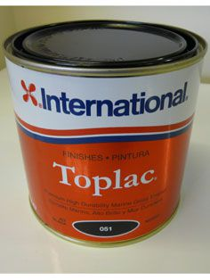 International Toplac Jet Black